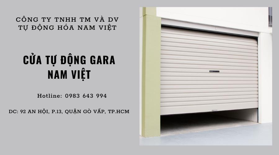 Công ty TNHH TM&DV Tự động hóa Nam Việt chuyên cung cấp cửa gara tự động chất lượng