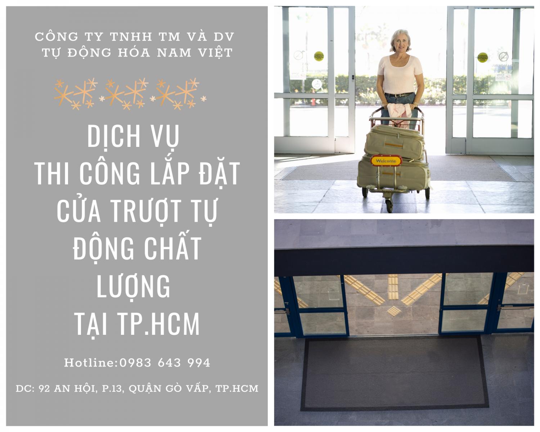 cửa trượt tự động Nam Việt 2